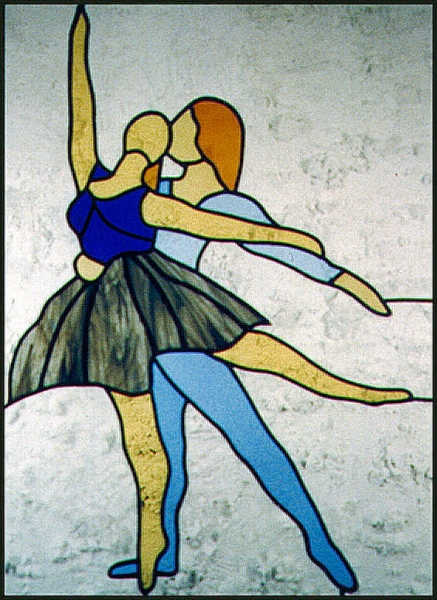 Danspaar 100 x 50 cm, € 230