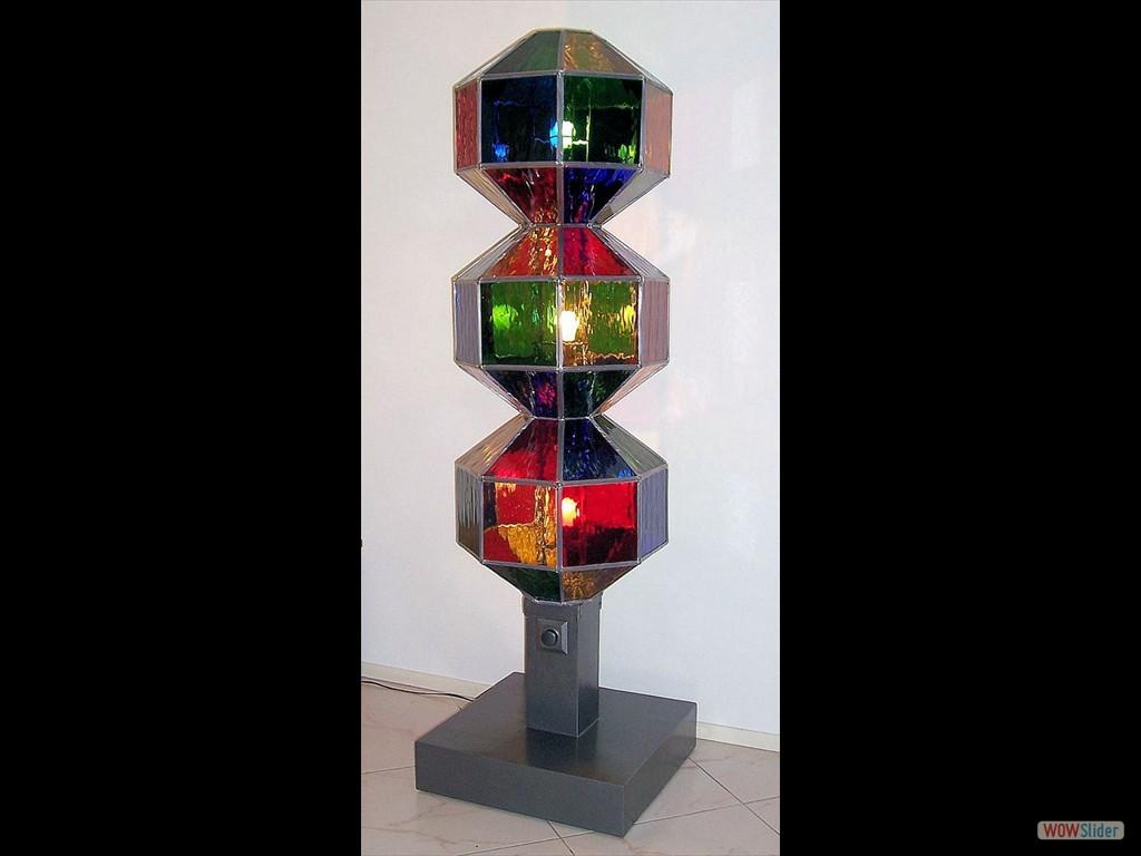 lamp met drie bollen