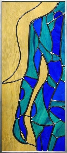 Titania, een hoofdpersoon uit mijn boek  90 x 30 cm €210