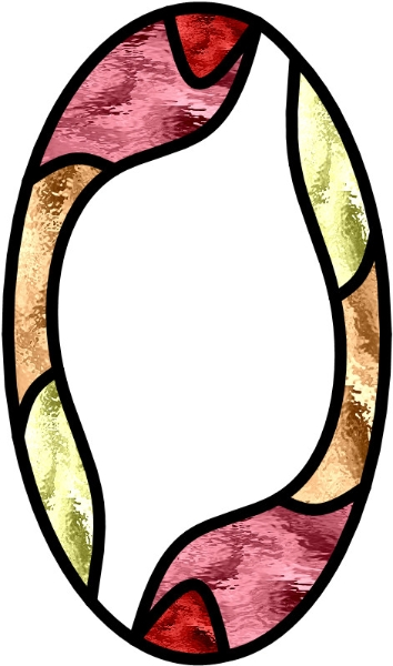 yinyan symbool in een spiegel